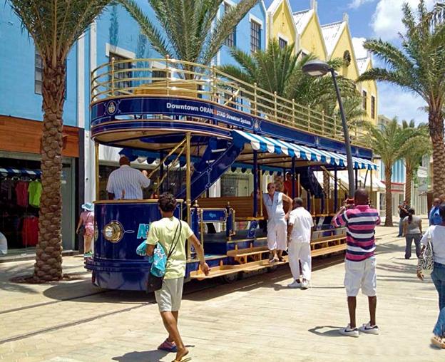 Trolley Blue