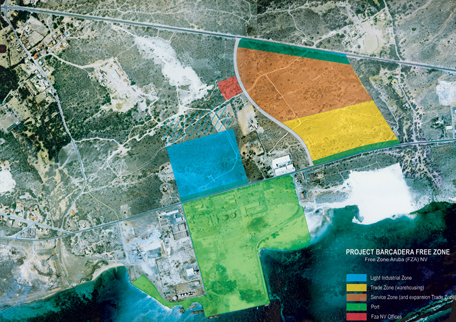 Container Port Moves to Barcadera | Aruba Ports Authority